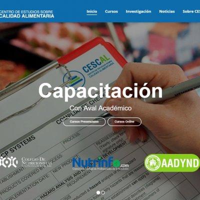 CESCAL sitio web
