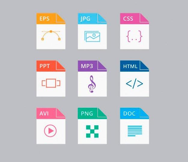 Formatos de archivos MIME